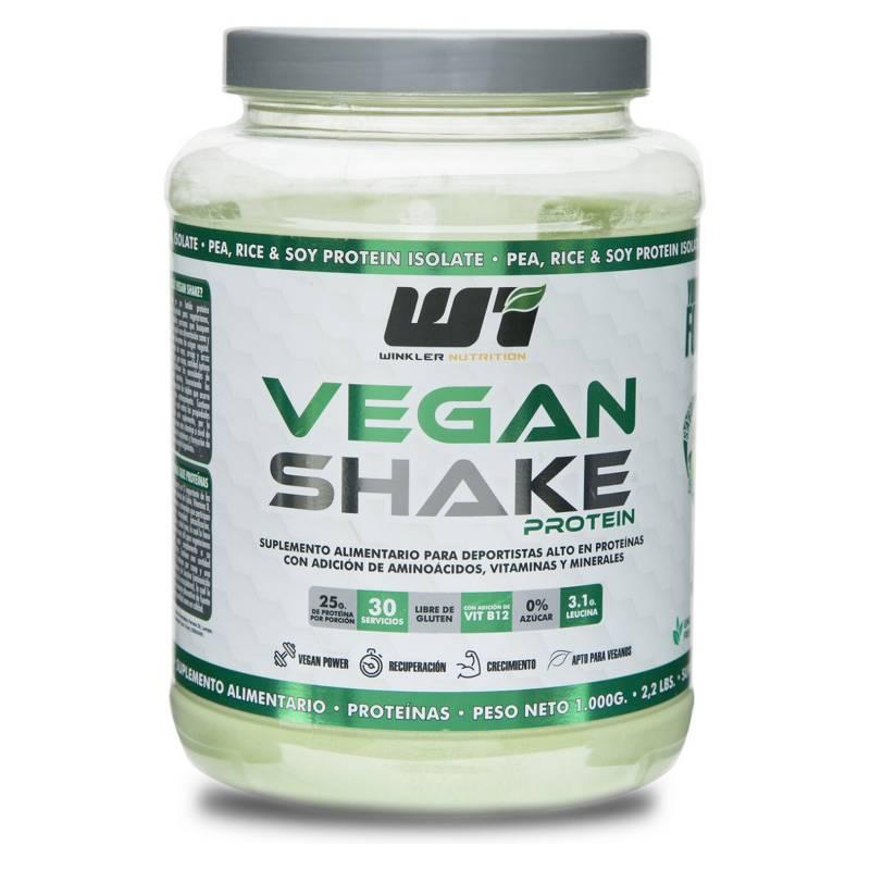 WINKLER NUTRITION - Proteina Vegana Vegan Shake Chocolate 1 Kg.