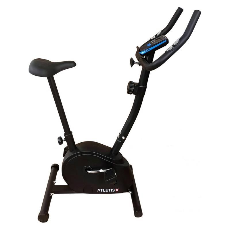 ATLETIS - Bicicleta Estática Magnética 8 Niveles Negro