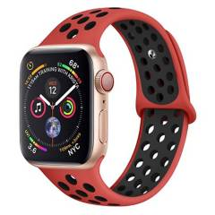 GENERICO - Correa Deportiva Estilo Nike Apple Watch 42/44mm