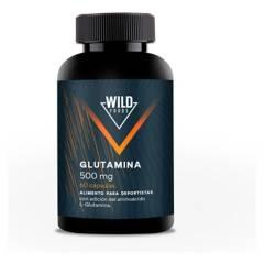 WILD FOODS - L-Glutamina 500Mg (60 Cápsulas)