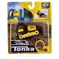 TONKA - Bulldozer Metalico 9 Cms Tonka Con Arena Magica