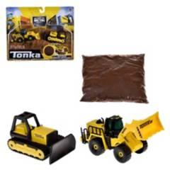TONKA - Pack 2 Vehiculos Construccion 9 Cms Tonka