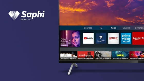 LED PHILIPS 4K UHD CON BORDES ULTRA DELGADOS, DOLBY VISION, SMART TV