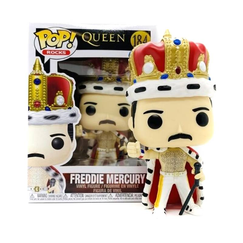 FUNKO - Funko Pop - Freddie Mercury 184 - Queen