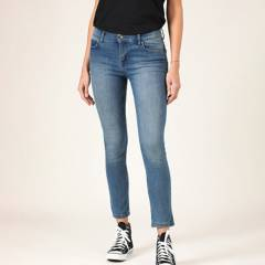 LEE - Jeans Leggins Tiro Medio Mujer