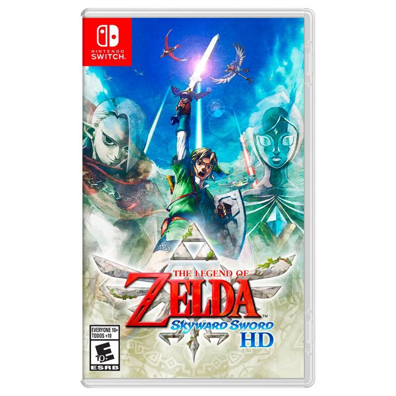 NINTENDO - The Legend of Zelda: Skyward Sword HD