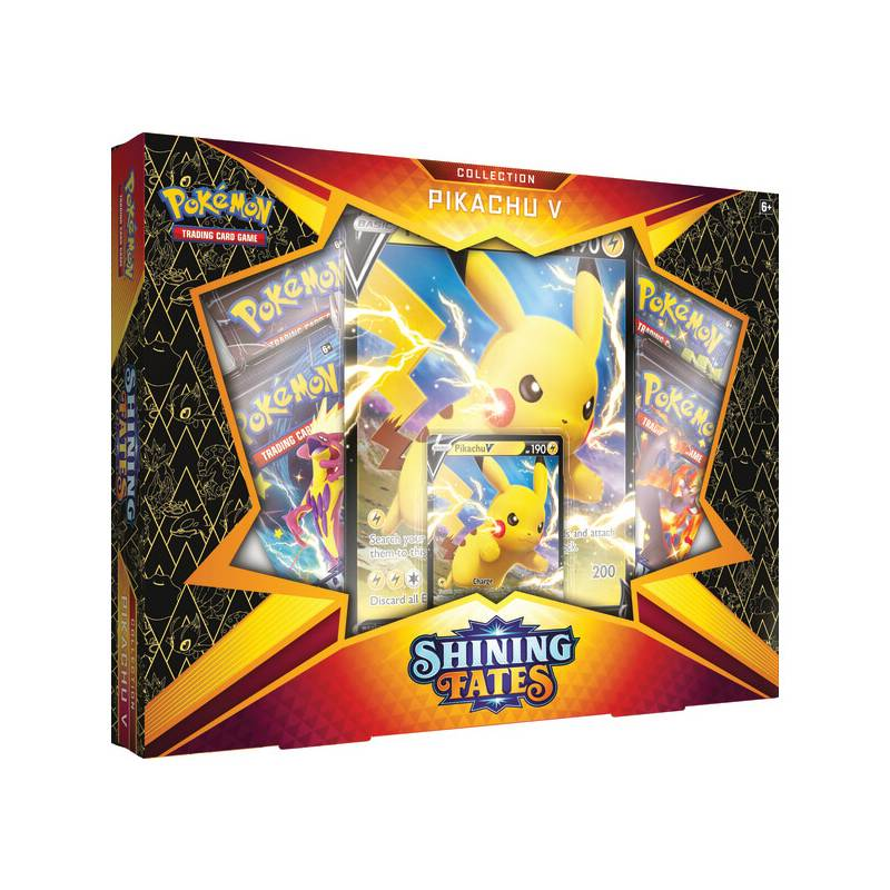 POKEMON - Shining Fates Collection Pikachu V - Inglés