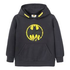 DC COMICS - Poleron Niño Logo Batman Negro Dc Comics