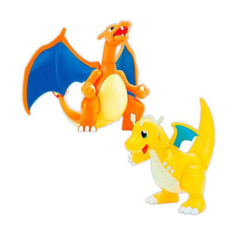 BANDAI - Figura Charizard  Dragonite Pokemon Spirits