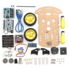 GENERICO - Kit Chasis Robot de dos Ruedas