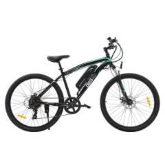 ATLETIS - Bicicleta Eléctrica Aro 27.5 7 Velocidades Negro