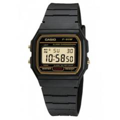 CASIO - Reloj digital unisex f-91wg-9