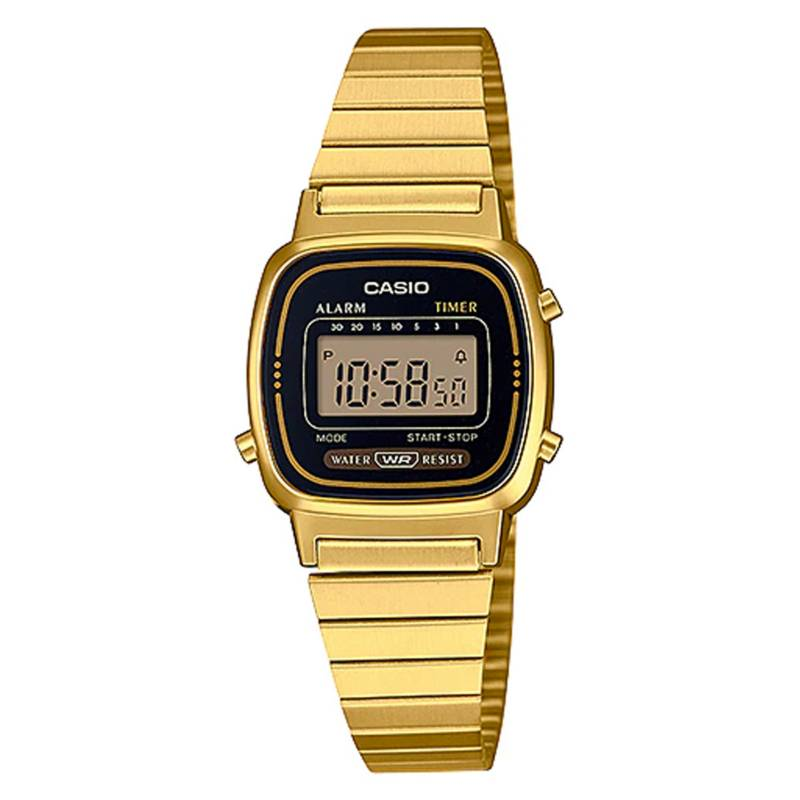 CASIO - Reloj digital mujer la-670wga-1