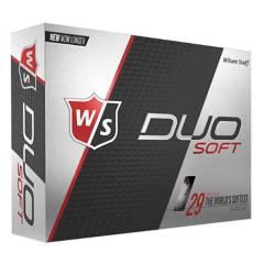 WILSON - Pelota Golf Duo Soft 12-Ball Wh