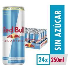 red bull - Red Bull Sugar Free 250Ml X 24