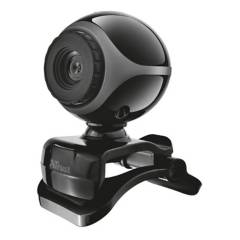 TRUST - Webcam USB Con Microfono Trust Exis Teletrabajo