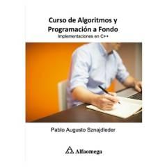 ALFAOMEGA - LIBRO CURSO DE ALGORITMOS Y PROGRAMACIÓN A FONDO - Implementaciones en C++