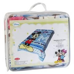 DISNEY - Cobertor De Cuna Mickey Celeste