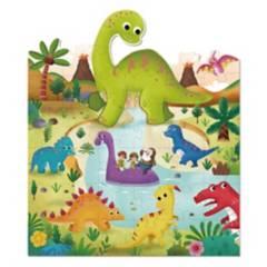 TOOKY TOY - Puzzle Del Tierno Dinosaurio