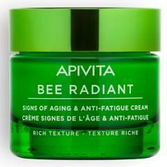 APIVITA - BEE RADIANT Crema Signos de la Edad & Anti-Fatiga - Textura Rica