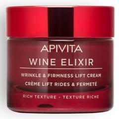 APIVITA - WINE ELIXIR Crema Antiarrugas y Reafirmante con Efecto Lifting ¿ Textura Rica