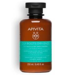 APIVITA - HAIR CARE Shampoo Equilibrante para Raíz Grasa y Puntas Secas