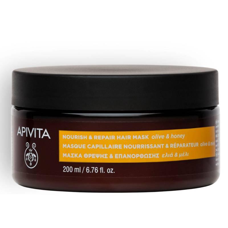 APIVITA - HAIR CARE Mascarilla Capilar Nutritiva y Reparadora