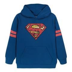 DC COMICS - Poleron Niño Kent Superman Azul Dc Comics