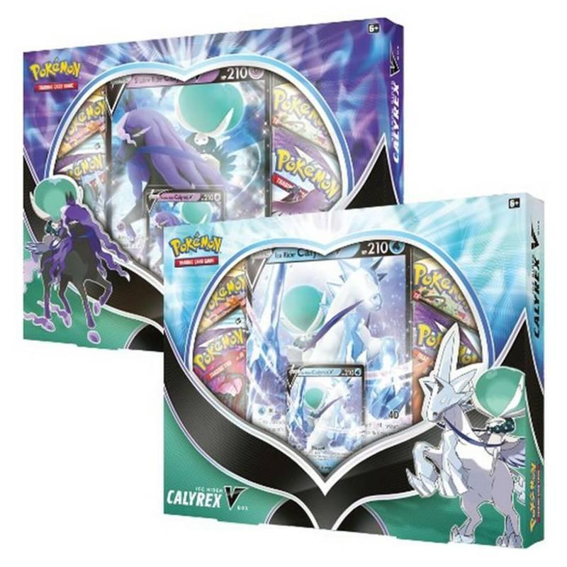POKEMON - Cartas Pokémon - Calyrex V Box Inglés