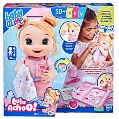 BABY ALIVE - Muñecas Y Accesorios Baby Alive Lulu Achoo! (Rubia)