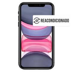 APPLE - Apple Iphone  11 Negro 64Gb Reacondicionado.