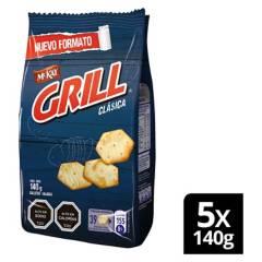 Nestle - Galleta Grill Clásica 140G Pack X5