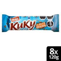 Nestle - Galleta Chip Kuky Clásica 120G X8