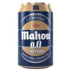 Mahou - Cerveza Mahou 00 Tostada Lata 24X330Cc