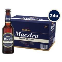Mahou - Cerveza Mahou Maestra Doble Lupulo 24X330Cc