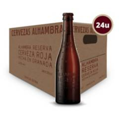 ALHAMBRA - Cervezas Alhambra Reserva Roja 24X330Cc
