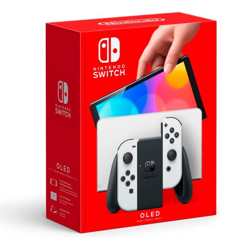 NINTENDO - Consola Nintendo Switch Oled White