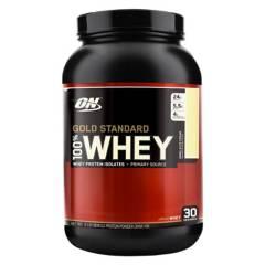 OPTIMUM NUTRITION - Gold Standard 100% Whey Protein Vainilla 2 Lb