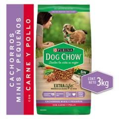 PURINA - Alimento Seco Perro Dog Chow Carne Y Pollo 3Kg