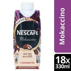 Nestle - Café Con Leche Nescafé Mokaccino 330Ml Pack X18
