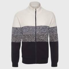 JAYSON - Sweater Full Zipper Cuello Medio