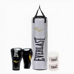 EVERLAST - Kit De Boxeo  Everlast  Elite  Negro