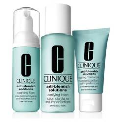 CLINIQUE - Sistema de 3 Pasos  Anti-Blemish Solutions Intro Kit