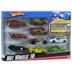 Hot Wheels Paquete De 10 Autitos