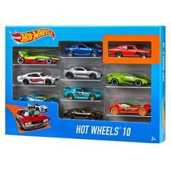 Hot Wheels - Pack de 10 Vehículos