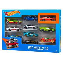 Hot Wheels - Pack de 10 Vehículos