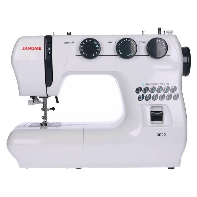 Janome - Máquina de Coser 3022