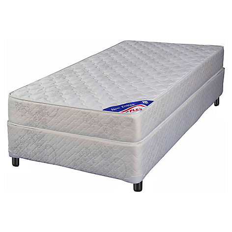 Flex cama americana new entree 1 plaza base normal for Medidas camas americanas