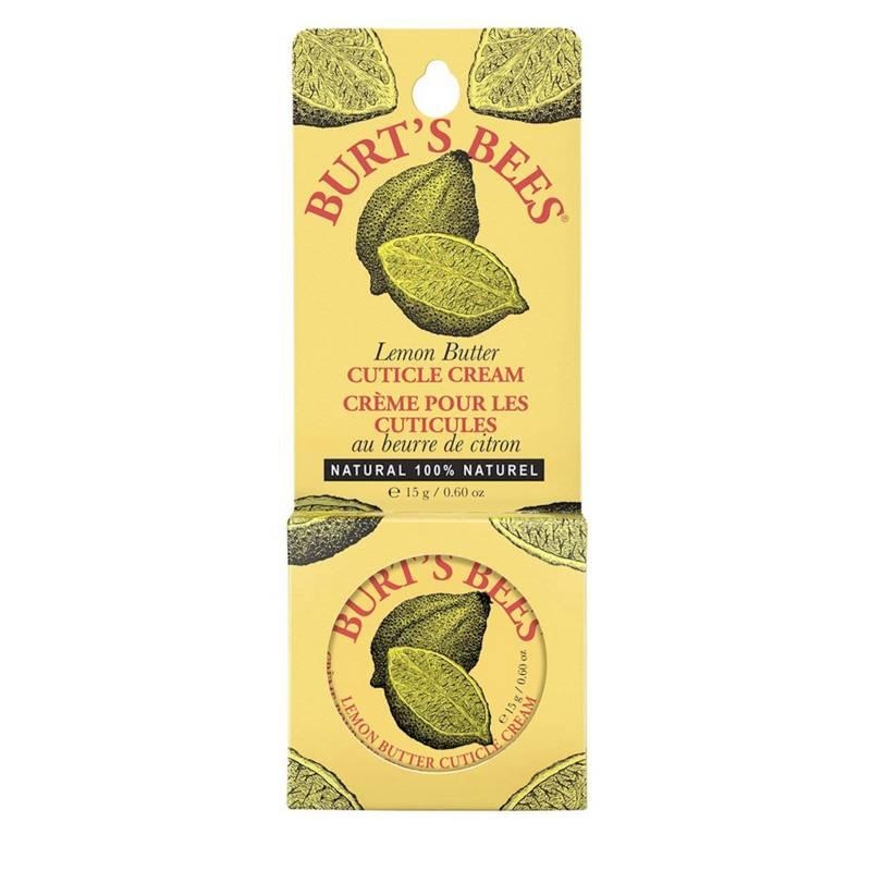 Burts Bees - Crema para Cutículas con Mantequilla de Limón Lata 17 G