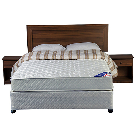 Flex cama americana new entree full base normal muebles for Textil muebles